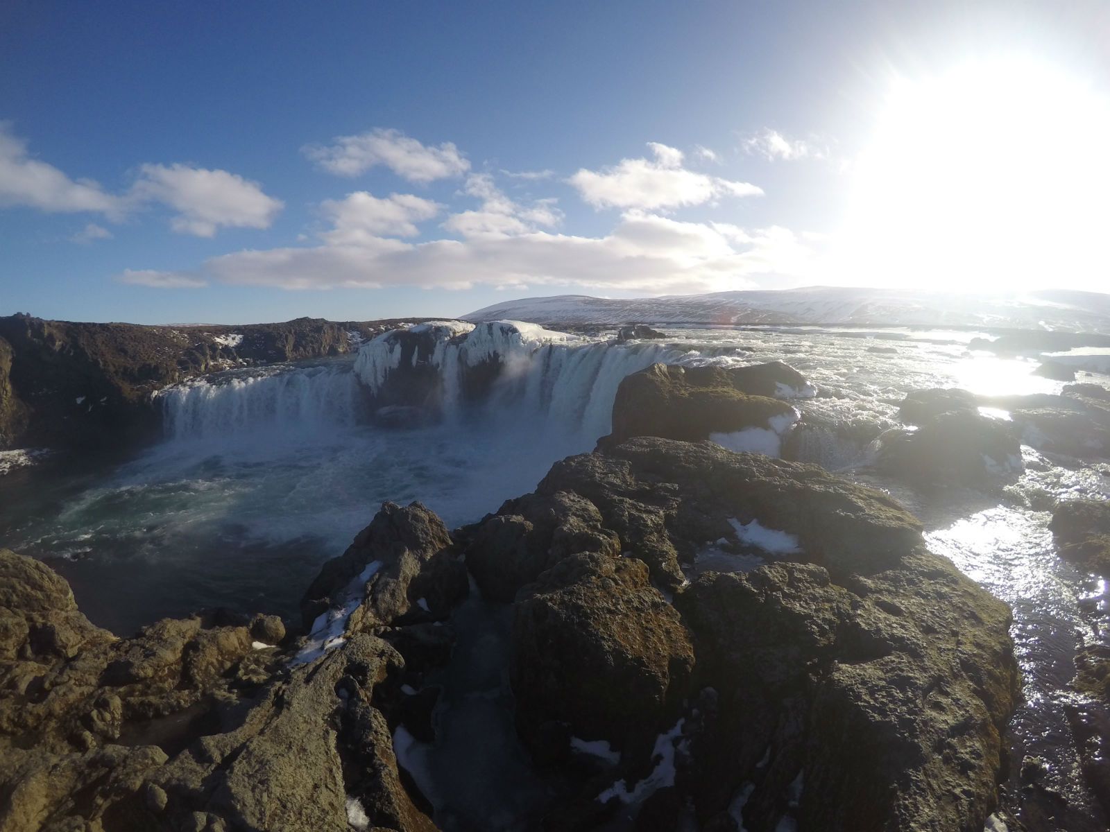 Goðafoss- The Waterfall of the Gods