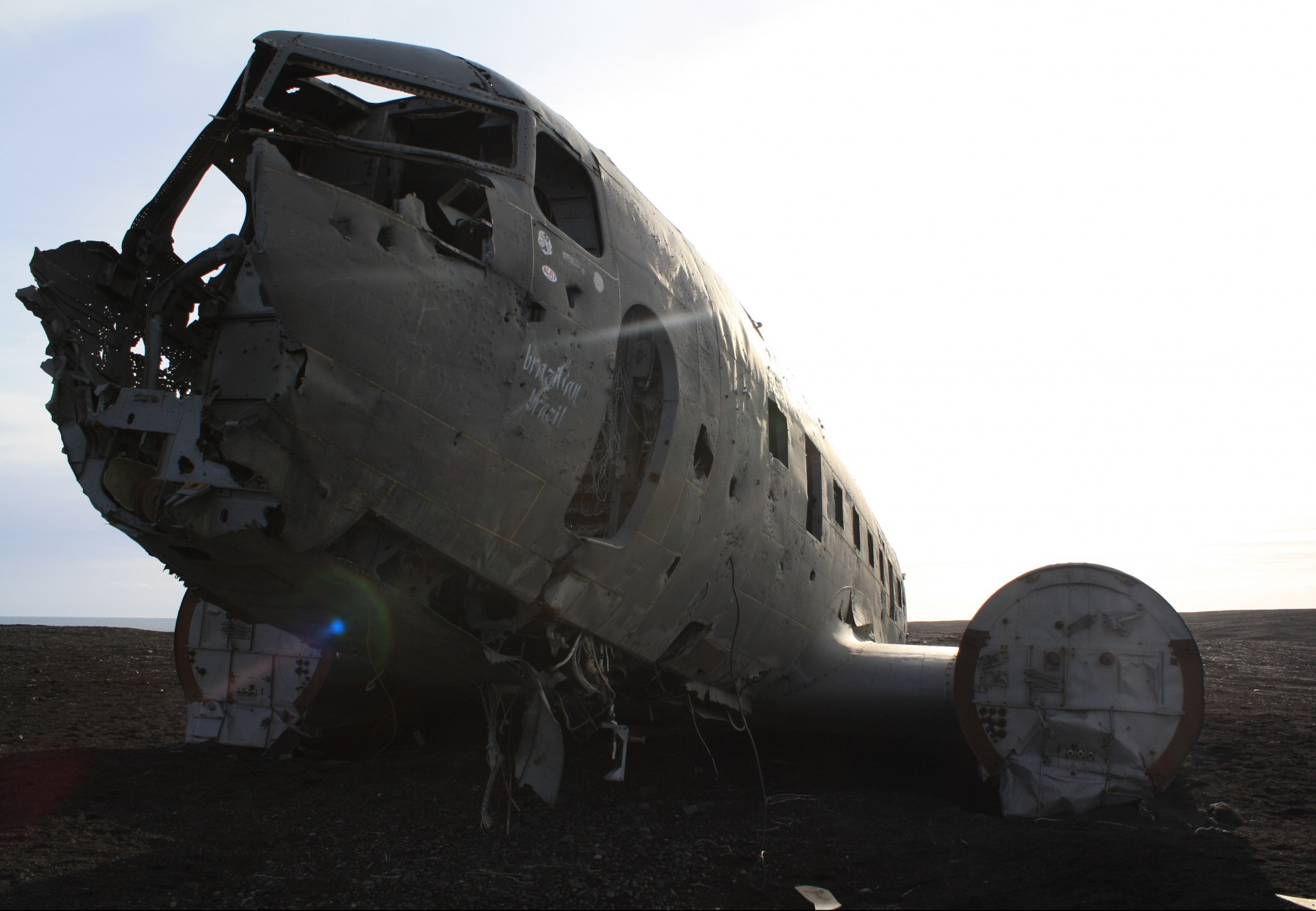 The Dramatic Plane Wreck Abandoned on an Icelandic Beach