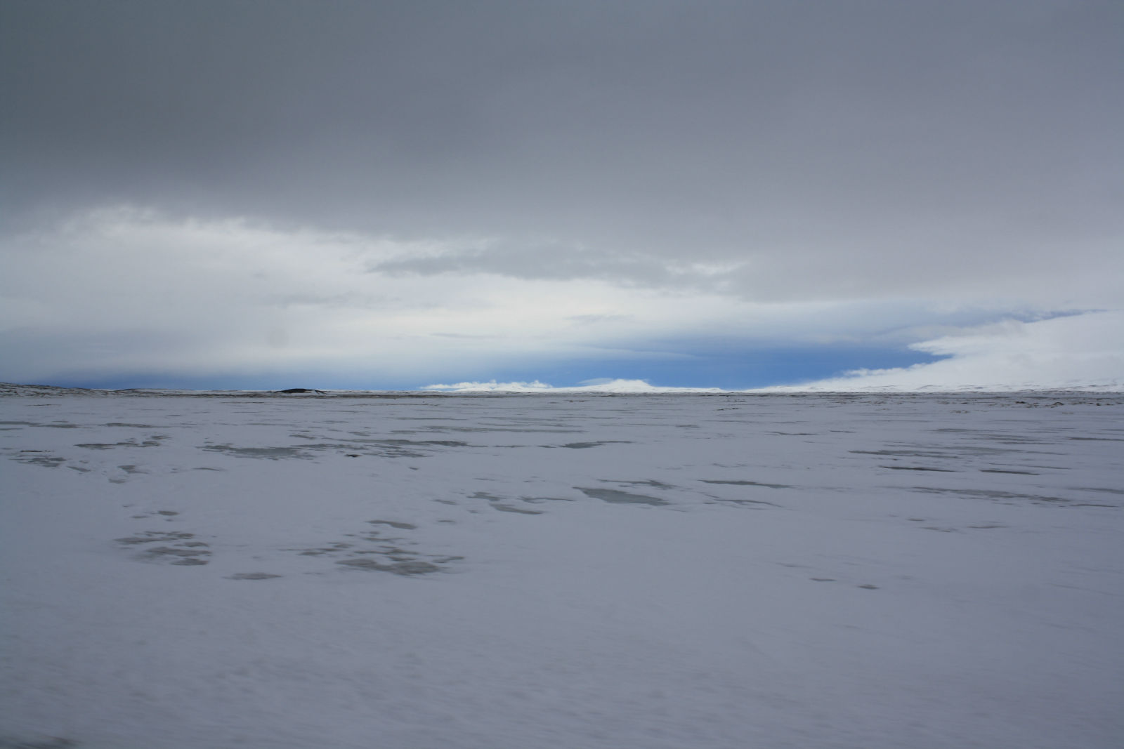 Snow and Ice: From Hofn to Myvatn