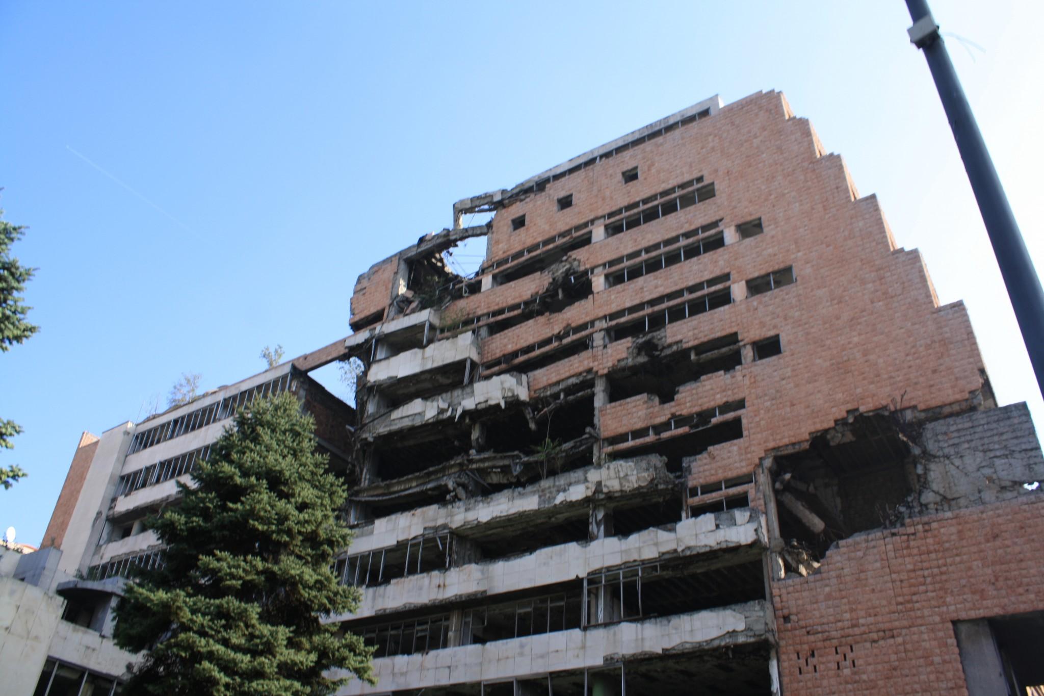 NATO Ruins Belgrade