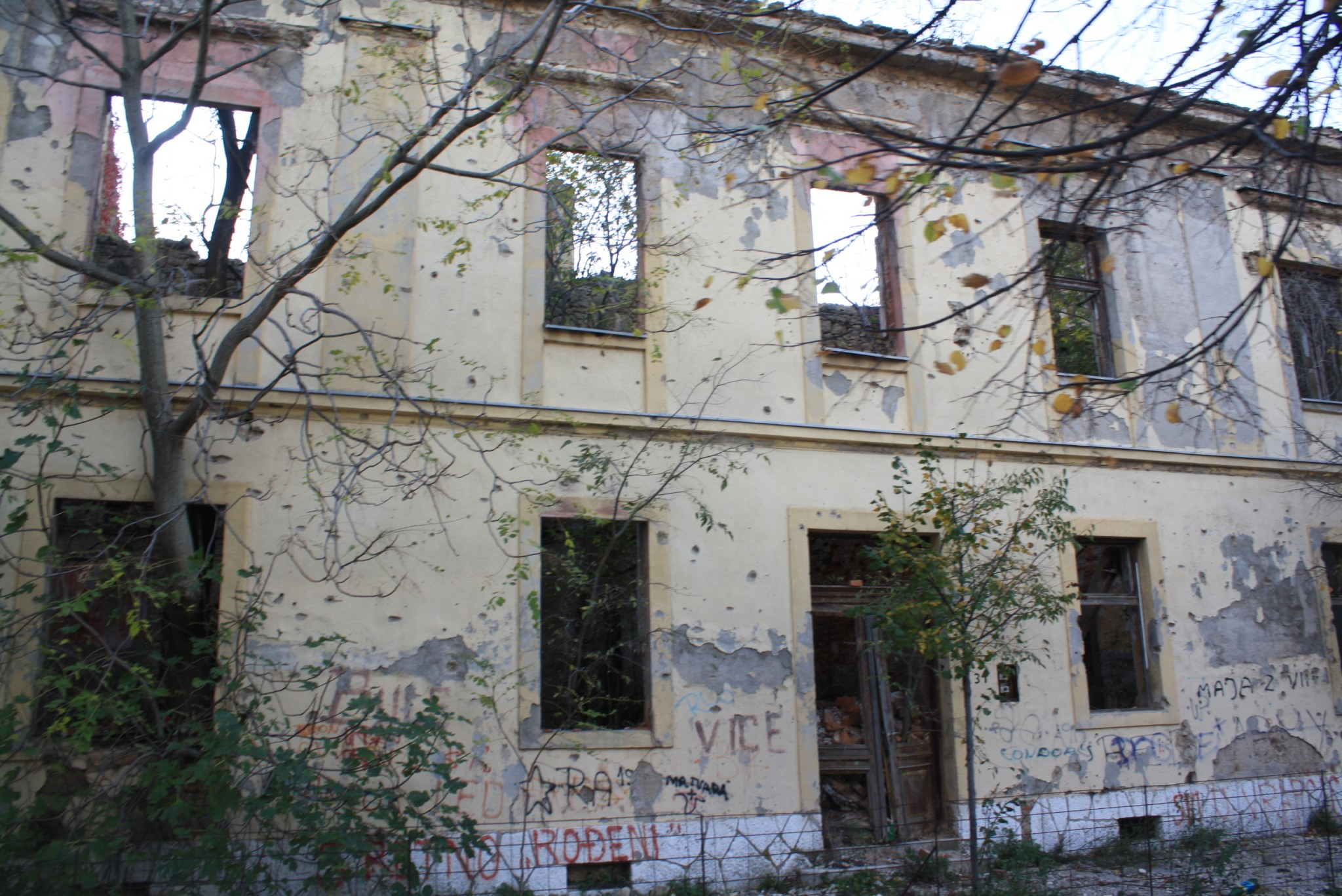 The Scars of War in Mostar