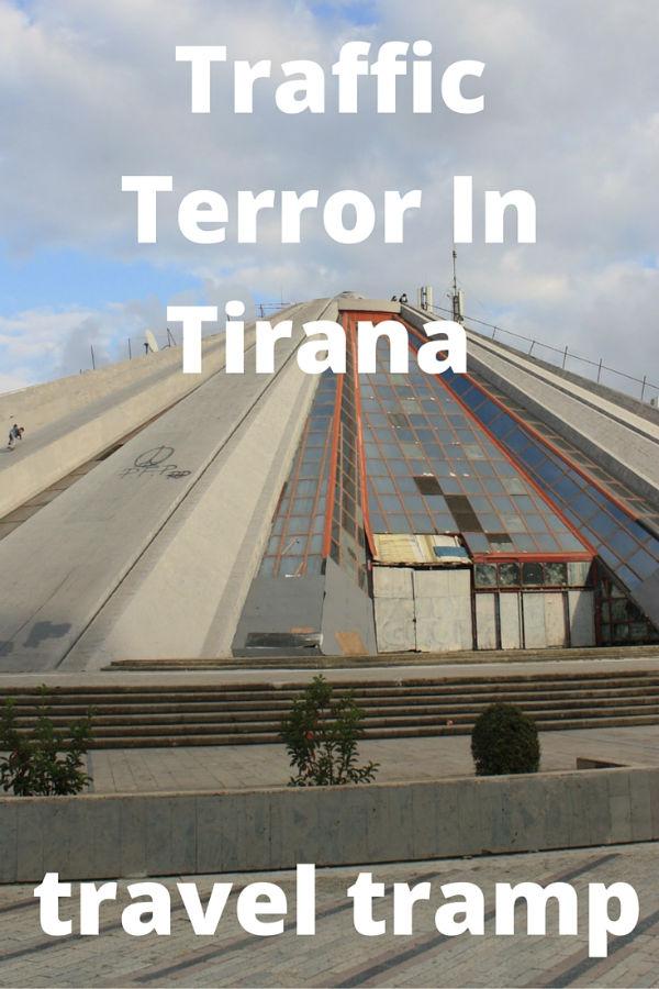 Traffic Terror in Albania's capital Tirana.