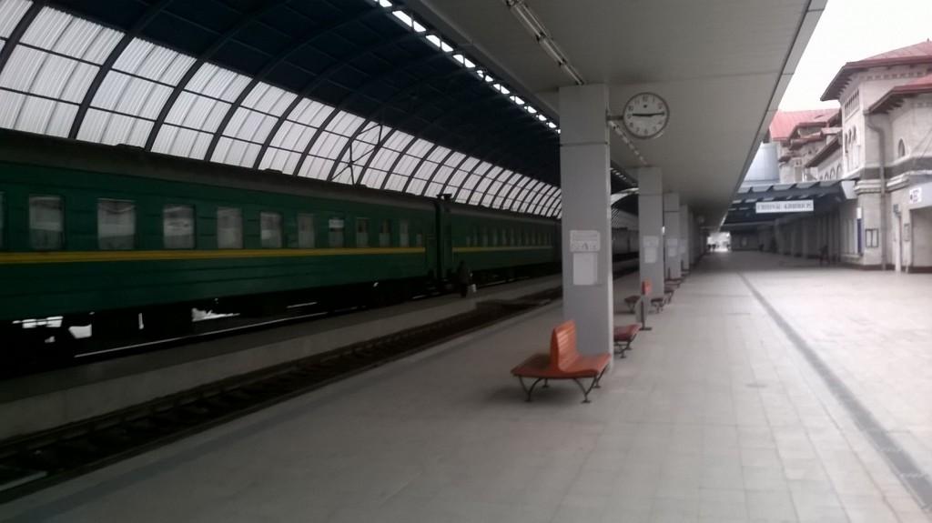 Inside Chisinau Central Station