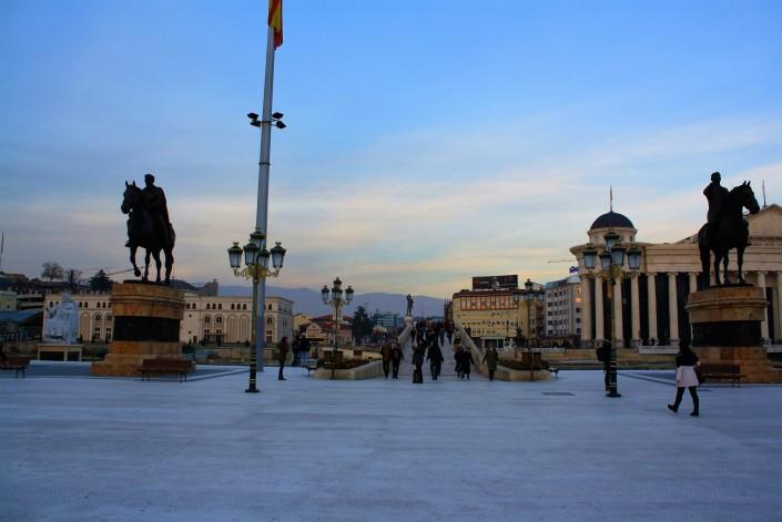 Skopje: The City Of Statues
