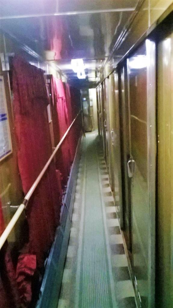 The sleeper train from Bucharest to Chisinau