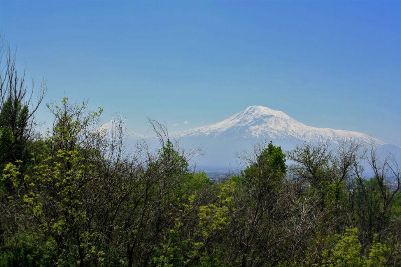 Mount Ararat from Yerevan