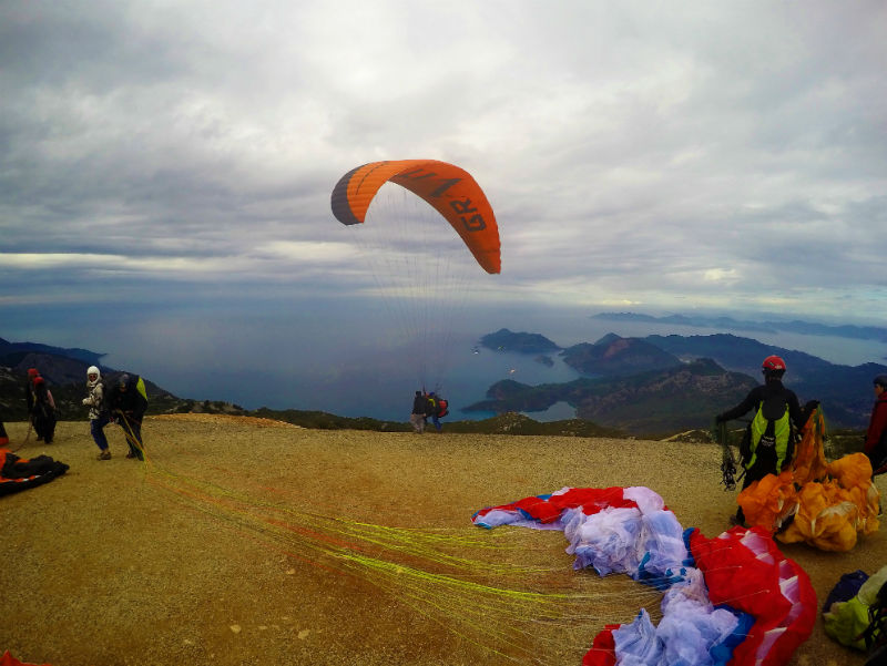 My Paragliding Crash In Oludeniz - Travel Tramp