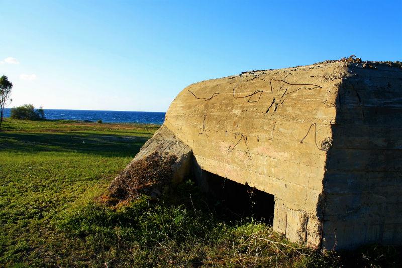 Along the Cyprus buffer zone