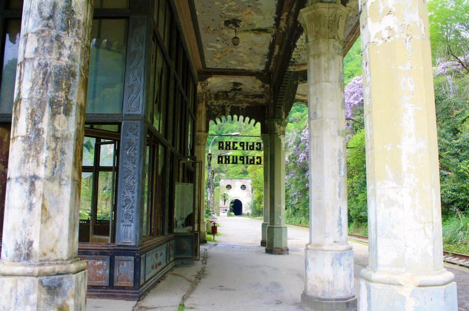 Psyrtskha Railway Station Abkhazia