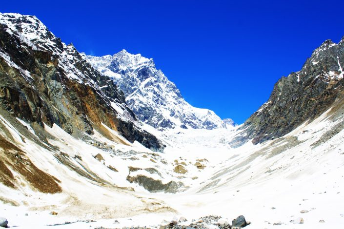Avalanches And Snow: The Hike To The Chaladi Glacier