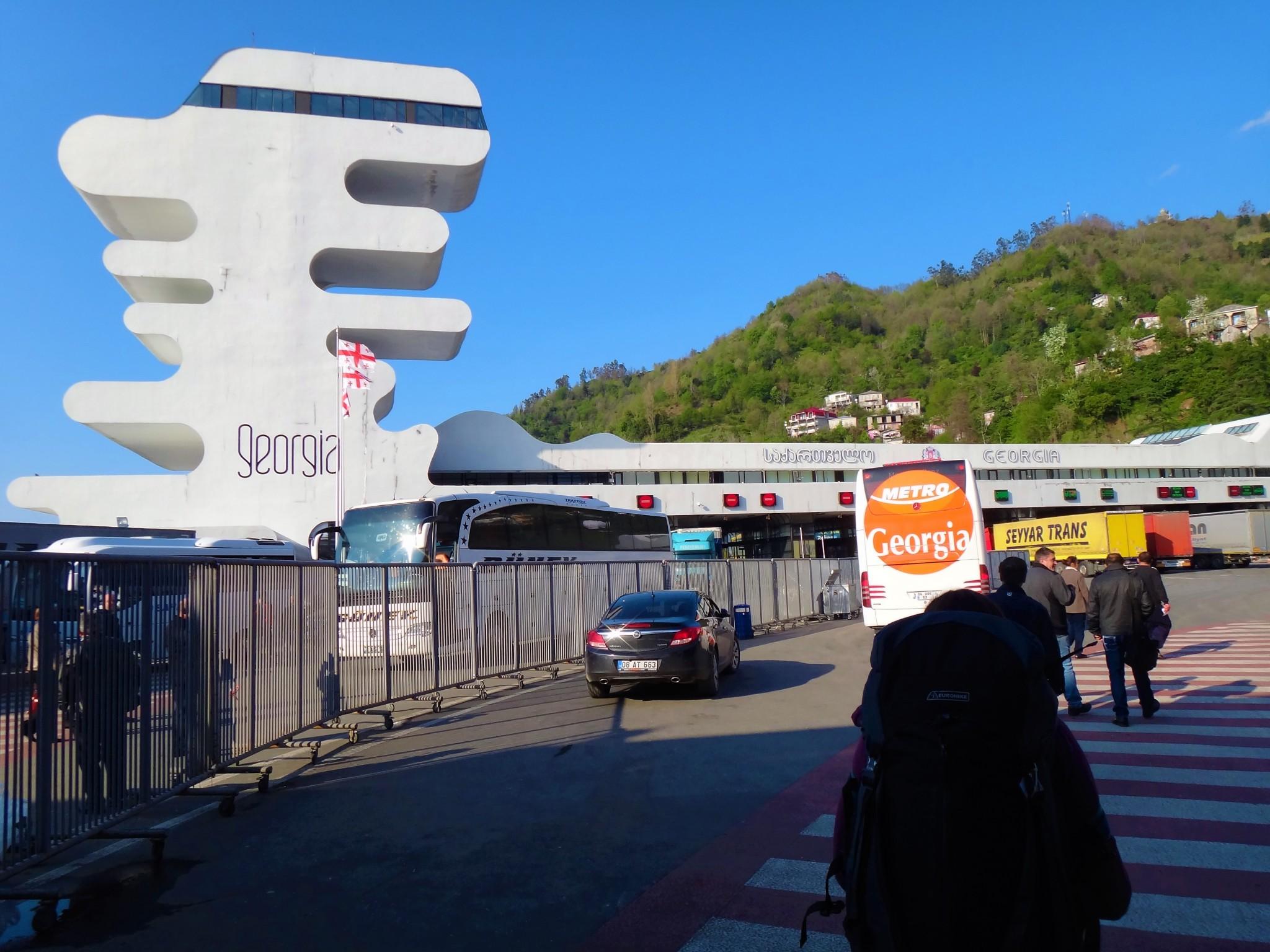 Turkey to Gorgia Crossing the border from Sarpi to Batumi