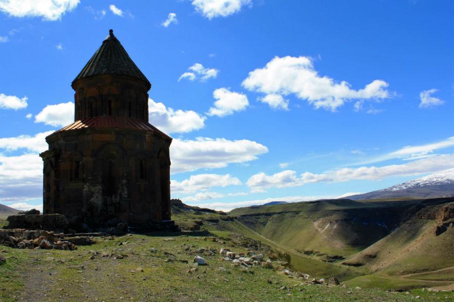The ruins of Ani Turkey