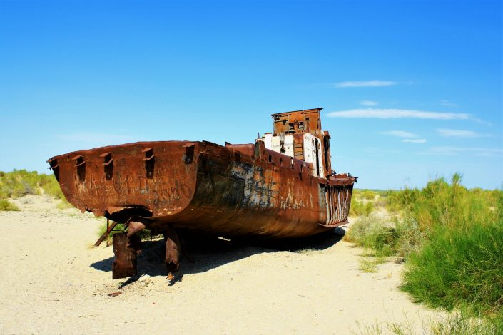 The Rusting Ships Of The Aral Sea
