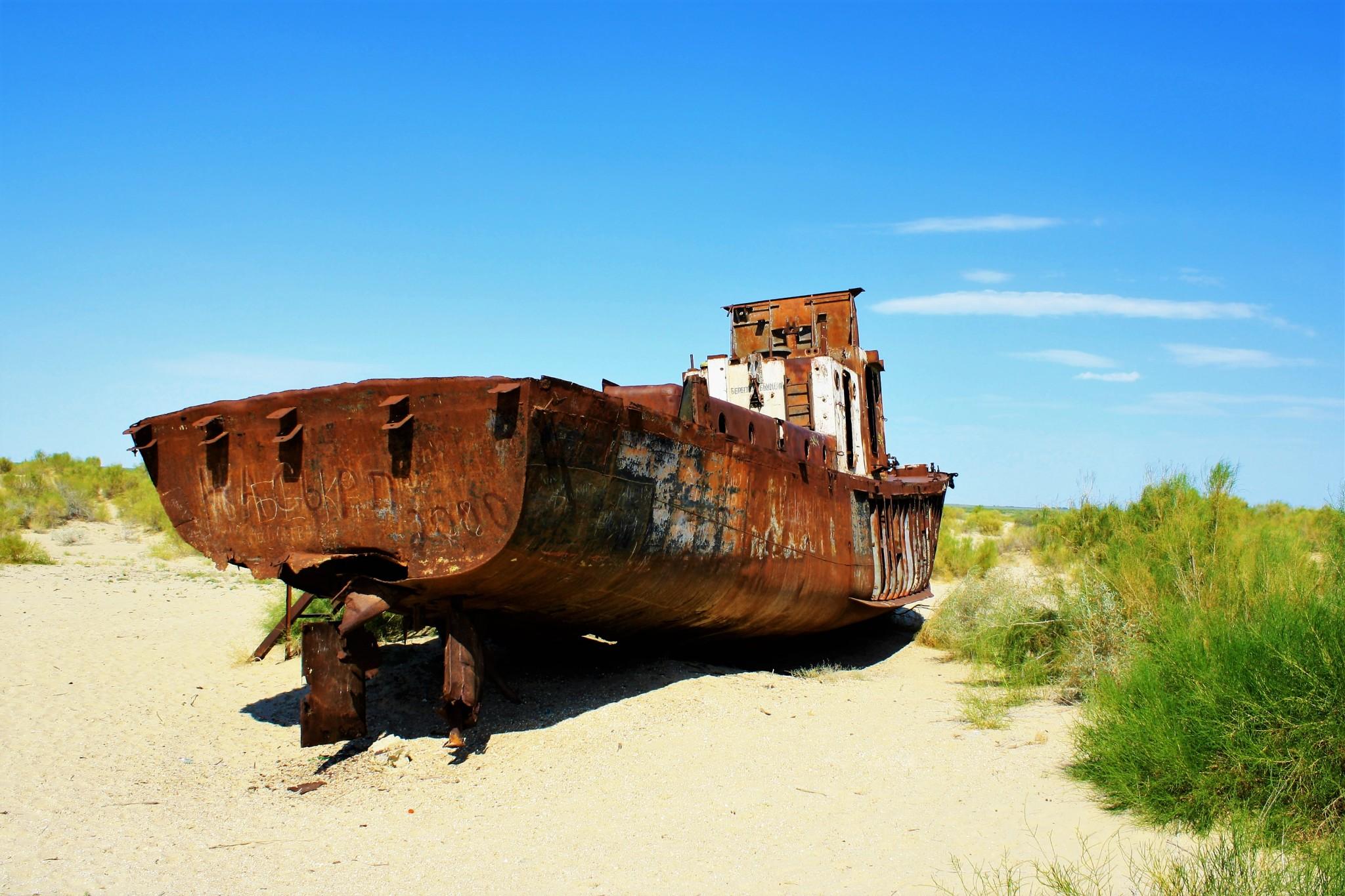 Aral Sea Moynaq Uzbekistan