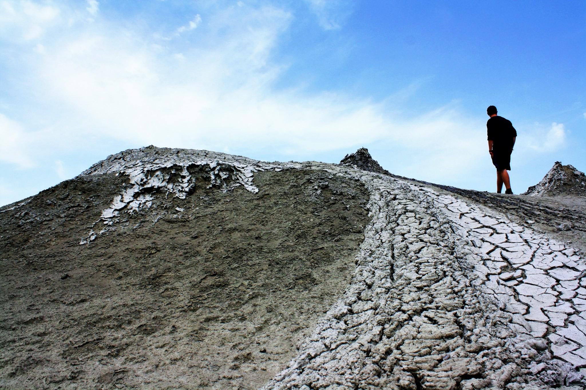 The Mud Volcanoes of Azerbaijan Baku