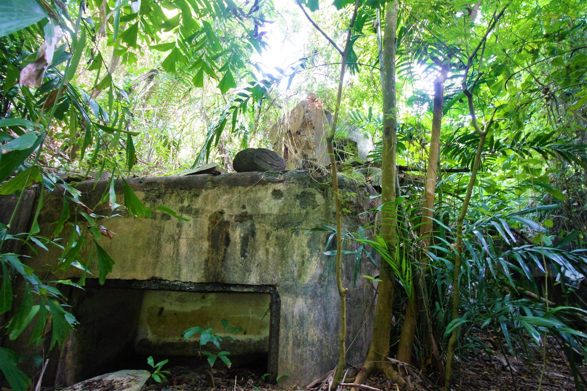 Abandoned Forts Sentosa Singapore