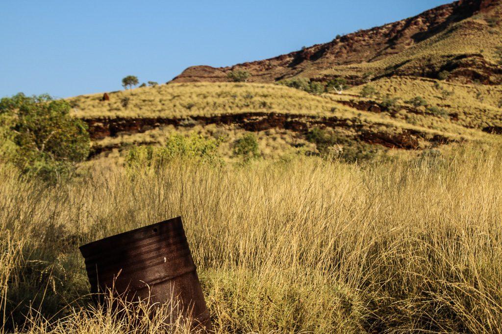 Wittenoom Blue Asbestos Abandoned Mining Town Western Australia