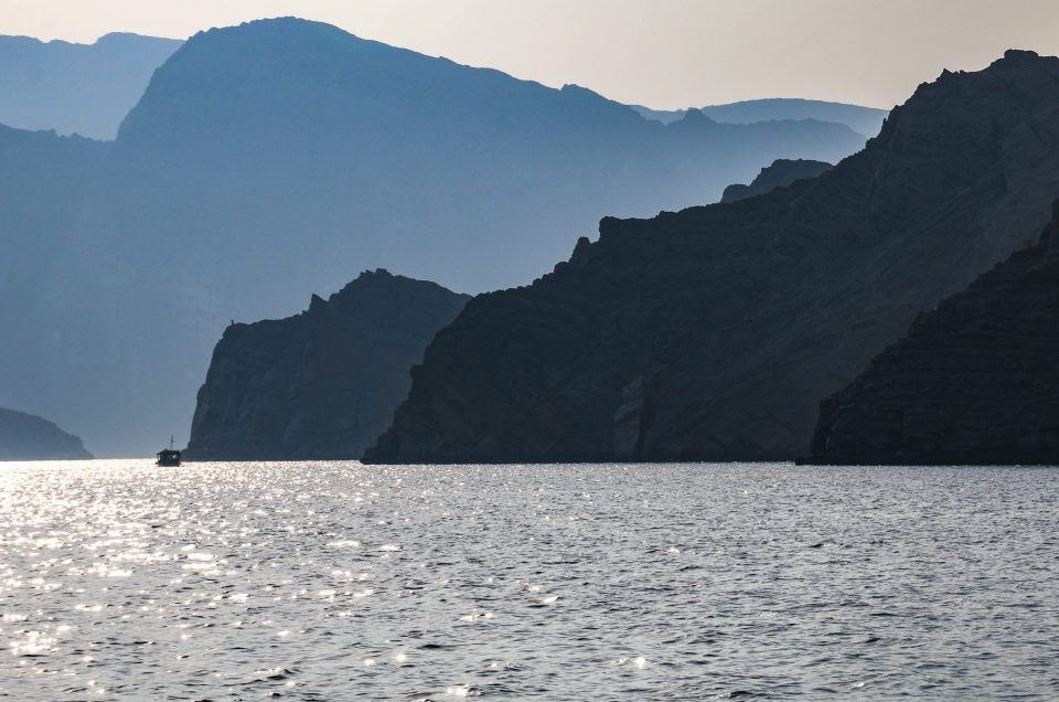 Dolphins And Smugglers In Khasab, The Fjords Of Oman