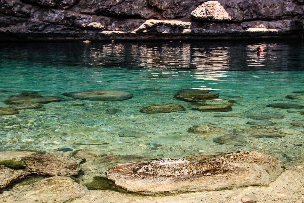 The Bimmah Sinkhole Oman