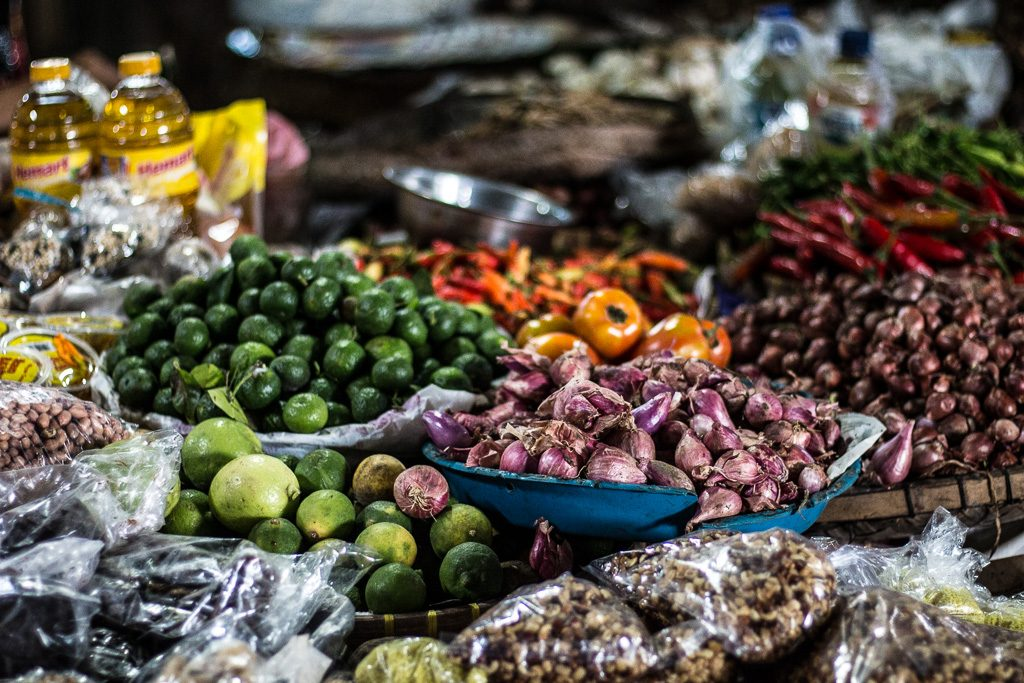 Images From A Local Balinese Market