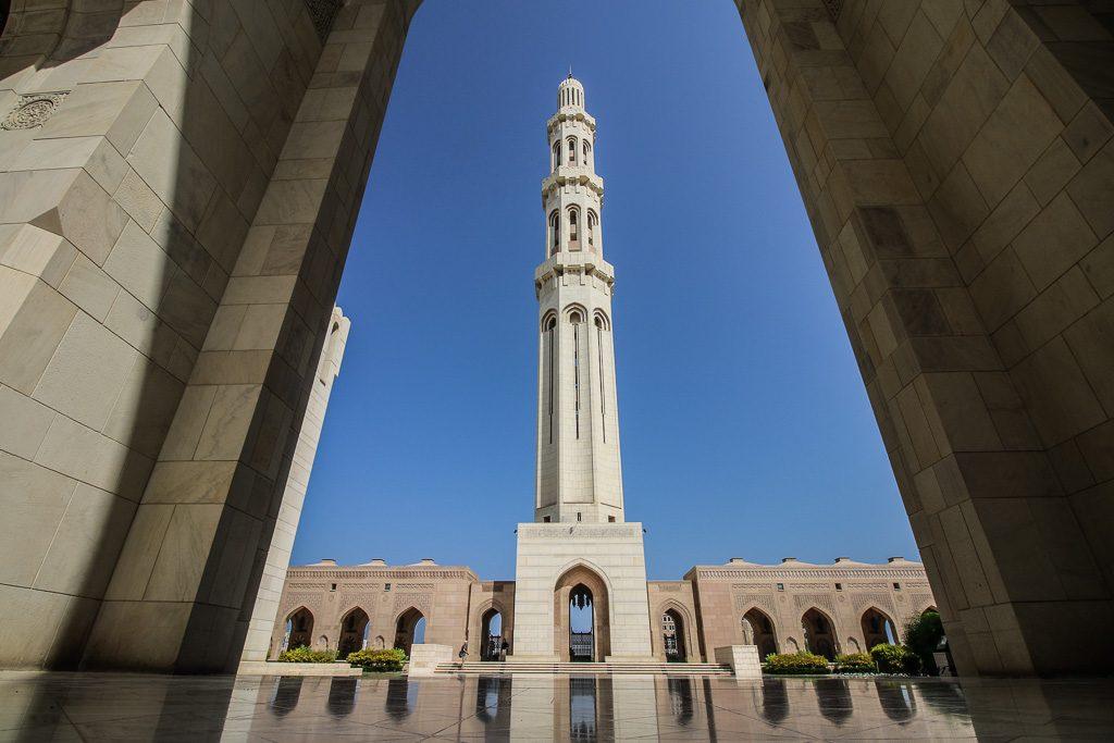 Sultan Qaboos Grand Mosque Muscat Oman