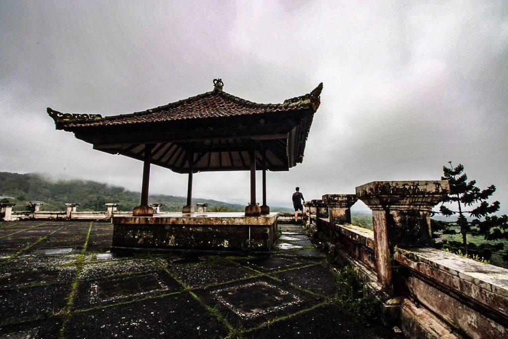 Abandoned Ghost Palace Hotel Bali