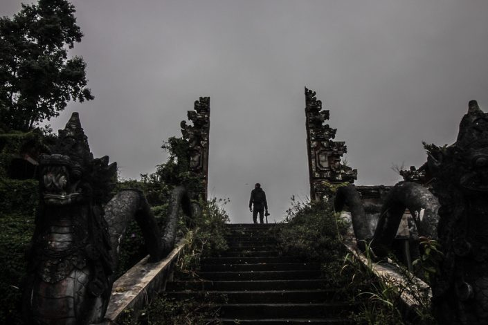 Exploring The Ruins Of Bali's Abandoned Ghost Palace Hotel