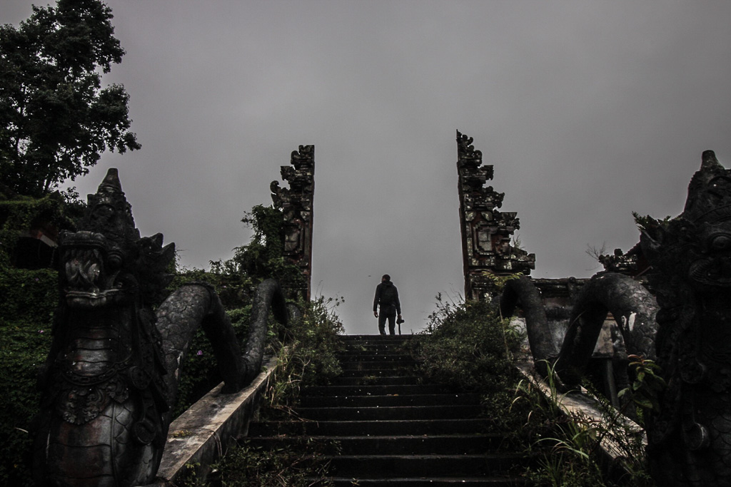 Ghost Palace Abandoned Hotel Bali