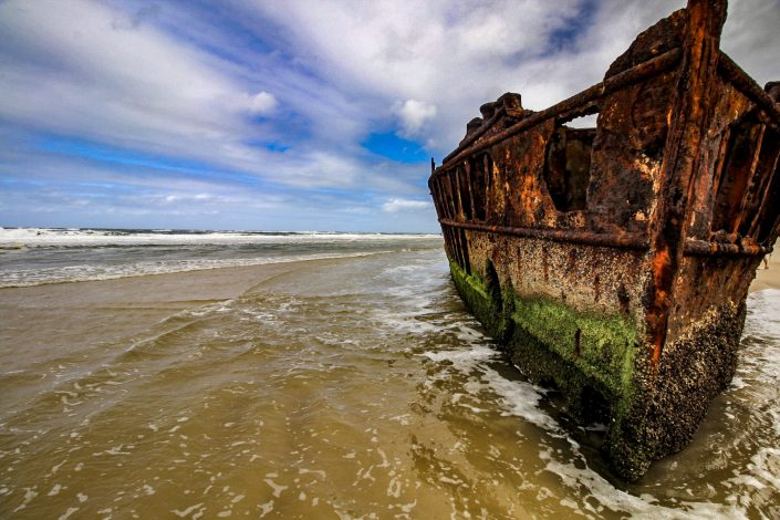The SS Maheno Shipwreck Is Rusting Away On Fraser Island