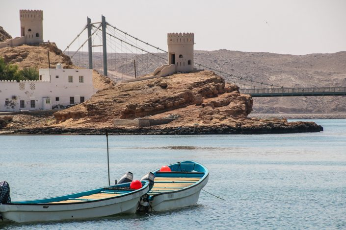 The Dhows And Forts Of Sur Oman