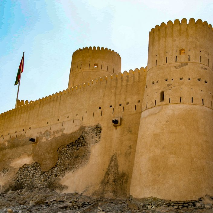 In Search Of Authentic Oman: The Nakhal Fort And Nakhal Hot Springs