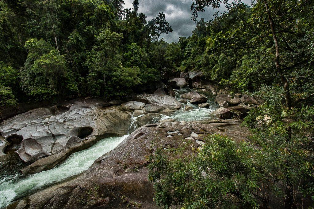 Babinda Boulders Cairns