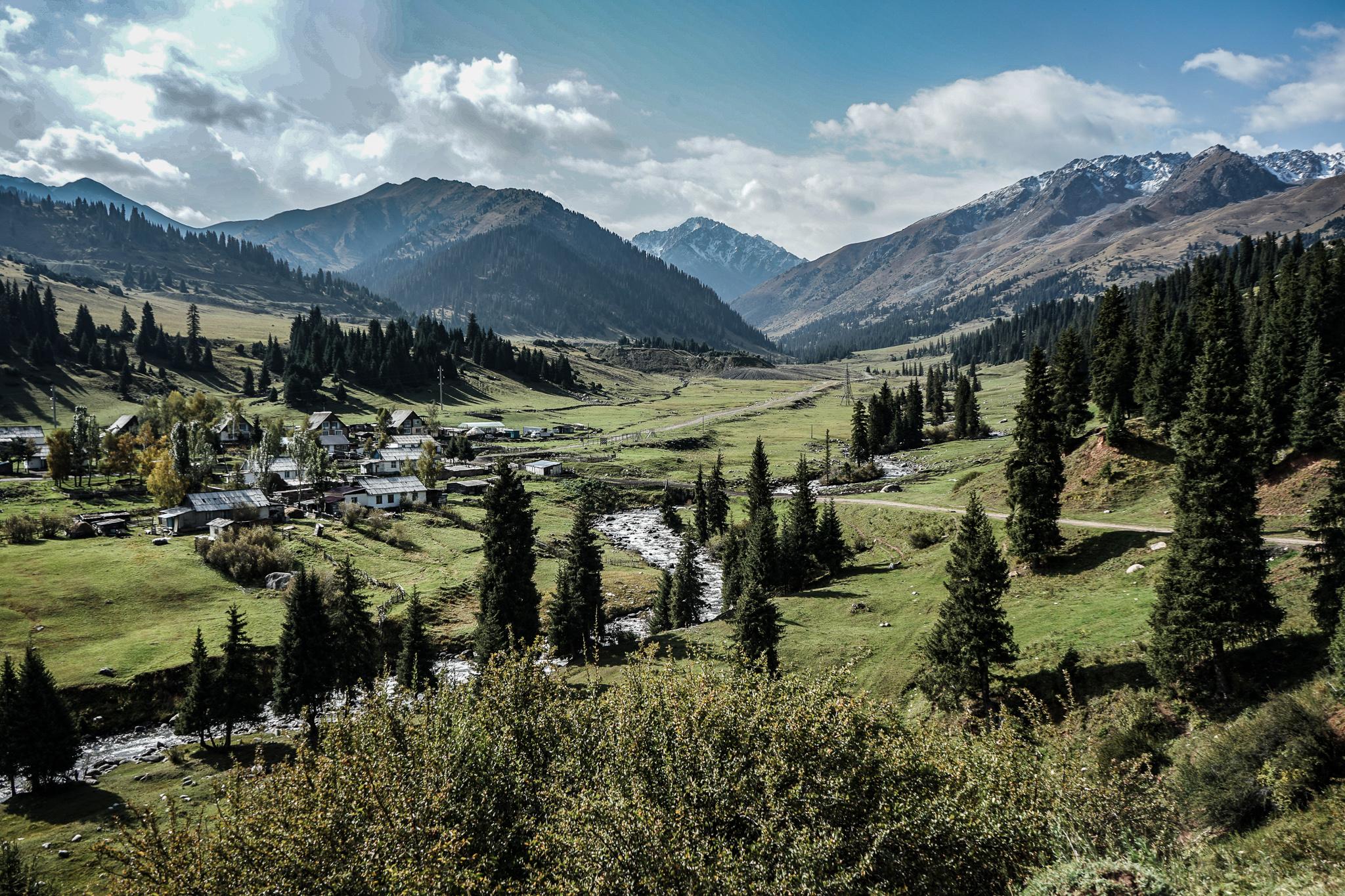 Jyrgalan Valley Kyrgyzstan