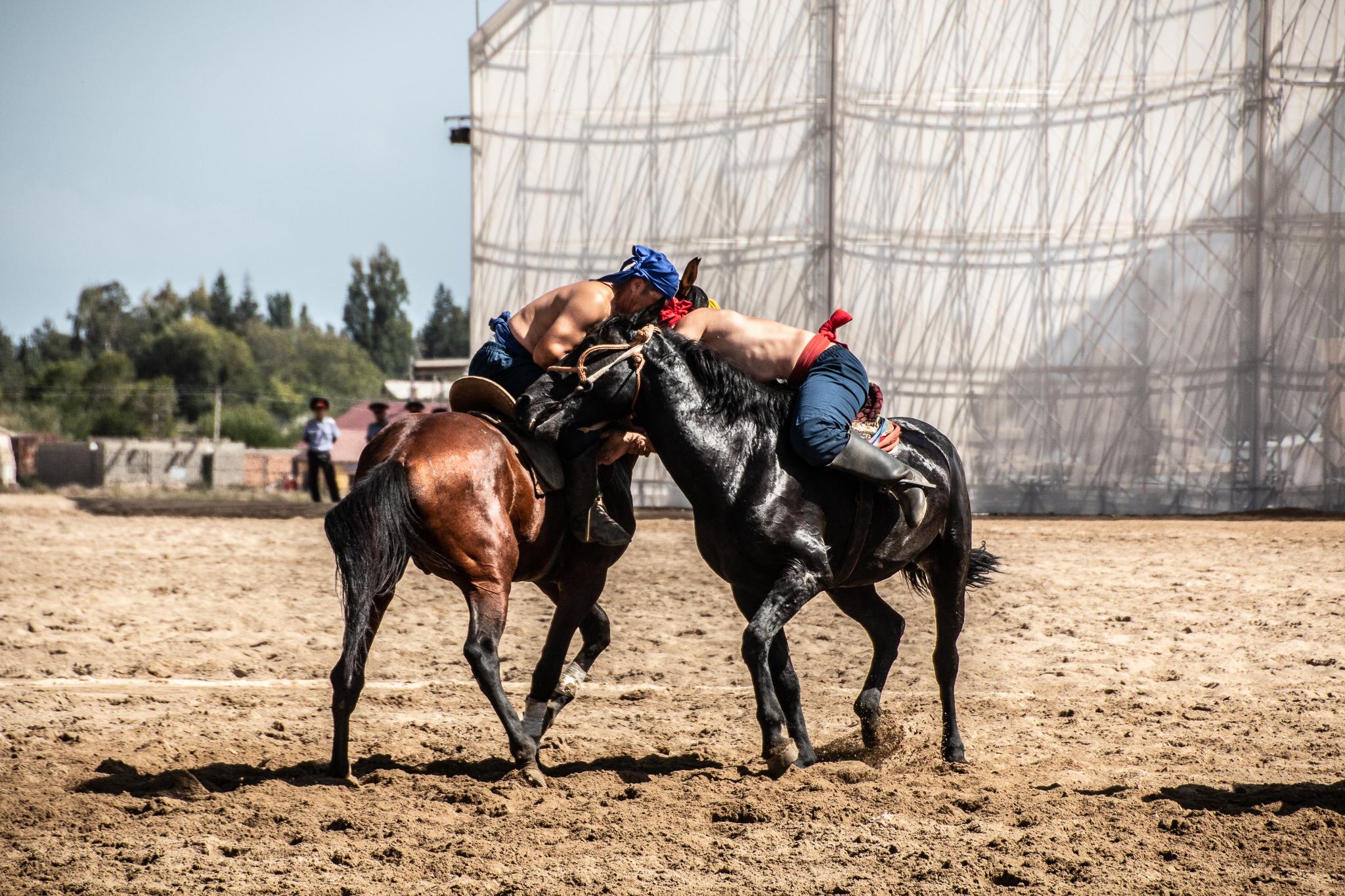Horseback Wrestling World Nomad Games