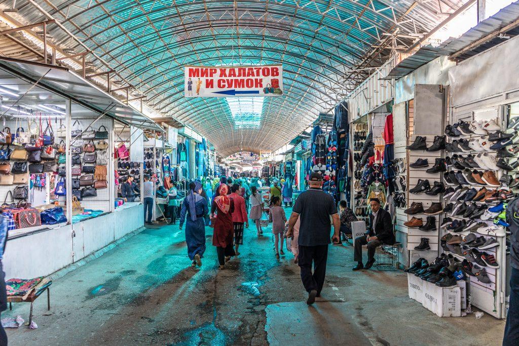 The Jayma Bazaar in Osh. Exploring the Modern Silk Road in Kyrgyzstan. -  Travel Tramp