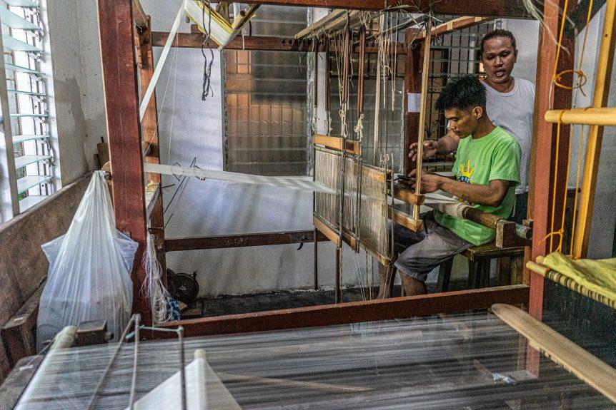 Pina Weaving Philippines